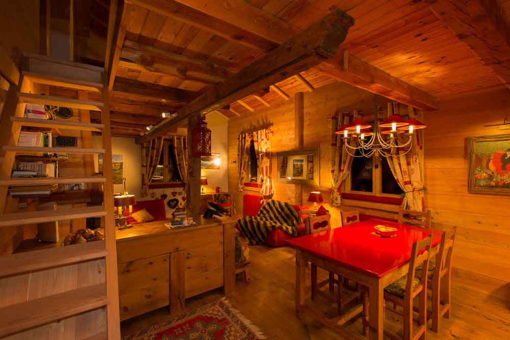Am nagement complet d 39 un appartement dans un chalet o il for Decoration interieur style chalet