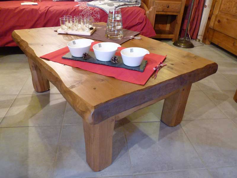 Table basse rectangulaire - Table basse ouvrante ...